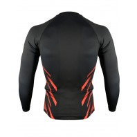 Рашгард Athletic pro. Martial Red MRG-124