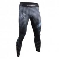 Компрессионные штаны Athletic pro. grey fitness MSP-144