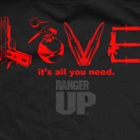 Футболка Ranger Up Black Love