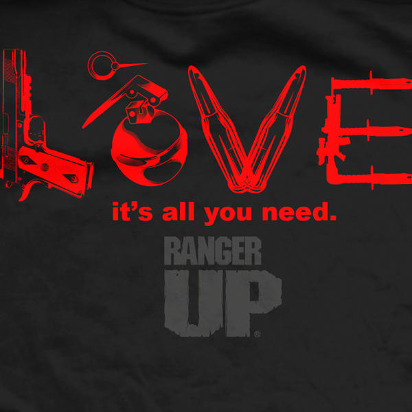 Футболка Ranger Up Black Love