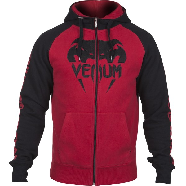 Толстовка Venum Pro Team 2.0 Hoody - Black/Red