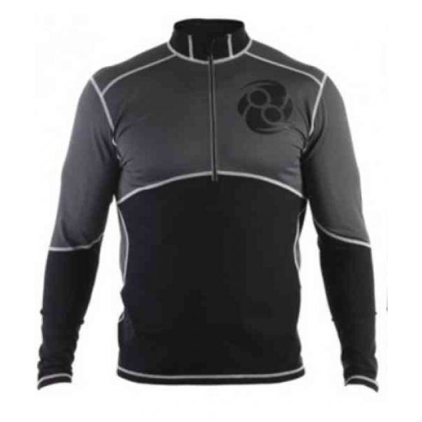 Рашгард Clinch Gear Zone Recovery Top-Black/Grey