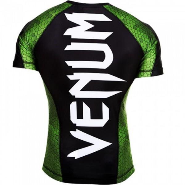 Рашгард Venum Amazonia Green S/S