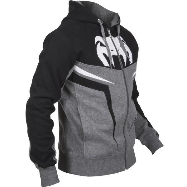 Толстовка Venum Shockwave 3.0 Hoody - Grey/Black