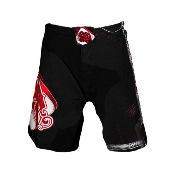 Шорты ММА Break Point Progression Kids Black/Red Shorts