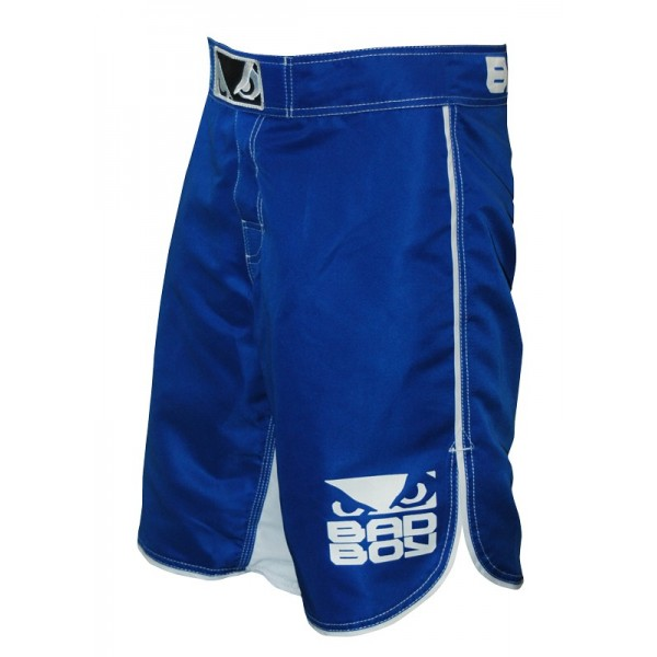 Шорты ММА Bad Boy MMA Blue/White