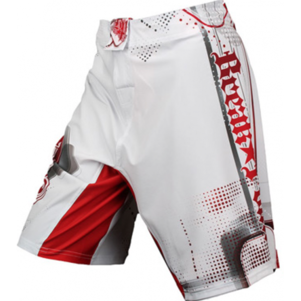 Шорты ММА Break Point Progression Kid's Shorts White/Red
