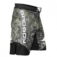 Шорты ММА Bad Boy Legacy II Camo Grey