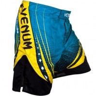 Шорты ММА Venum Lyoto Machida UFC Edition Electron 3.0  - Blue
