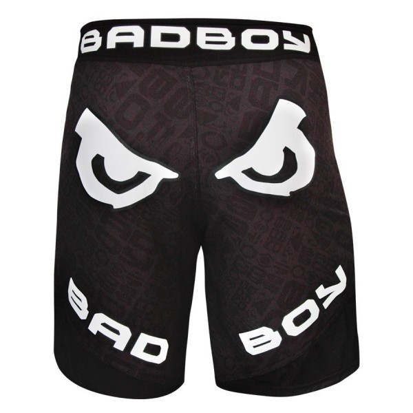 Шорты ММА Bad Boy Legacy II Short - Black Repeat