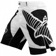 Шорты ММА Hayabusa  Chikara Fight Shorts Black/White