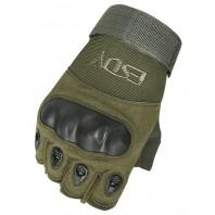 Перчатки тактические Tactician G-12 Half Finger Green
