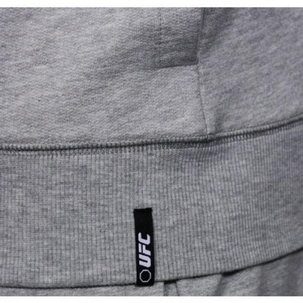 Толстовка UFC Sponsor Zip Fleece Grey