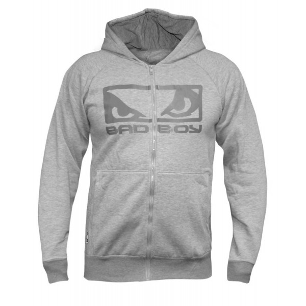 Толстовка Bad Boy Eyes Hoodie Grey Marl