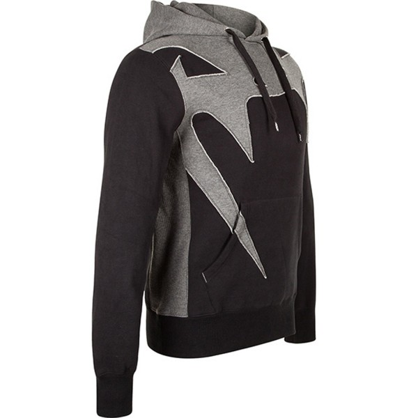 Толстовка Venum Assault Hoody Black/Grey