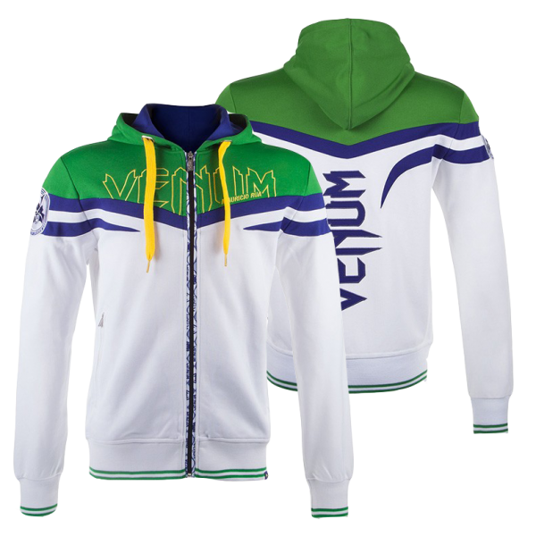 Толстовка Venum Sharp Shogun Hoody  - Ice/green