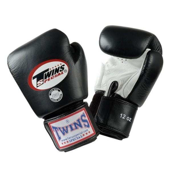 Перчатки боксерские Twins BGVL-3 Black/White