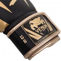 Перчатки боксерские Venum Elite Black/Gold