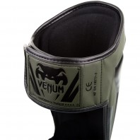 Щитки Venum Elite Khaki/Black