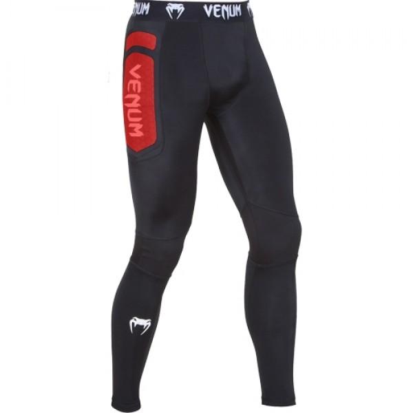 Компрессионные штаны Venum Absolute Black/Red