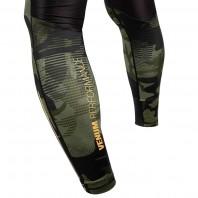 Компрессионные штаны Venum Tactical Forest Camo/Black