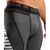 Компрессионные штаны Venum ONE FC Impact Grey/Yellow