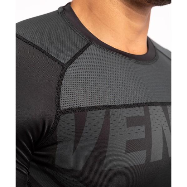 Рашгард Venum ONE FC Impact Black/Black L/S