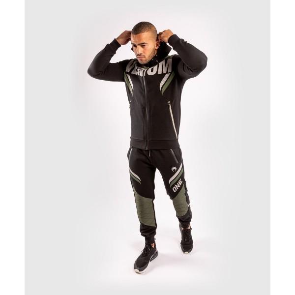 Брюки спортивные Venum ONE FC Impact Black/Khaki