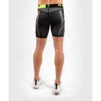 Компрессионные шорты Venum Training camp 3.0 Black/Neo Yellow