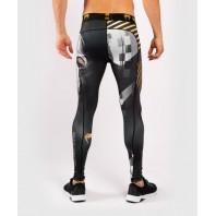Компрессионные штаны Venum Skull Black