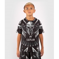 Футболка детская Venum Gladiator 4.0 Dry Tech Black/White