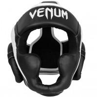 Шлем боксерский Venum Elite Black/White