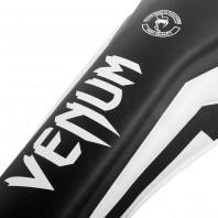 Щитки Venum Elite Black/White