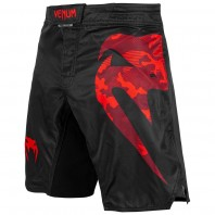 Шорты ММА Venum Light 3.0 Black/Red