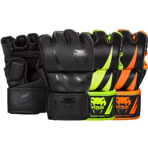 Перчатки ММА Venum Challenger Neo Black