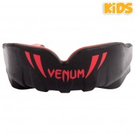 Капа боксерская детская Venum Challenger Black/Red