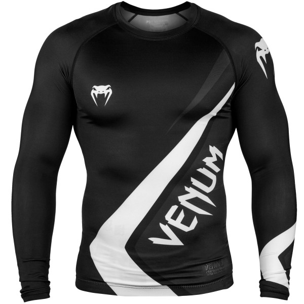 Рашгард Venum Contender 4.0 L/S Black/Grey-White