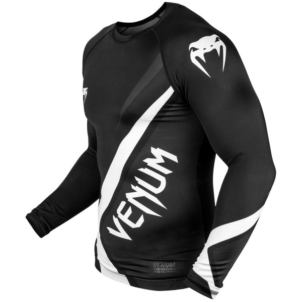 Рашгард Venum Contender 4.0 L/S Black/Grey-White