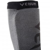 Щитки Venum Kontact Grey/Black