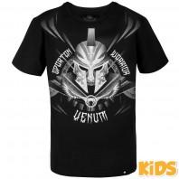 Футболка детская Venum Gladiator Black/White