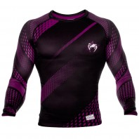 Рашгард Venum Rapid Black/Purple L/S