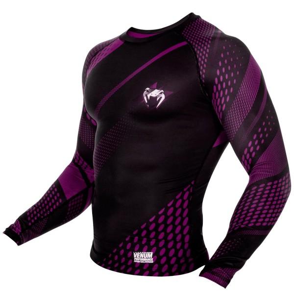 Рашгард Venum Rapid Black/Purple L/S