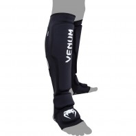 Щитки Venum Kontact Evo Shinguards - Black