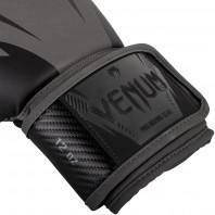 Перчатки боксерские Venum Impact Gray/Black