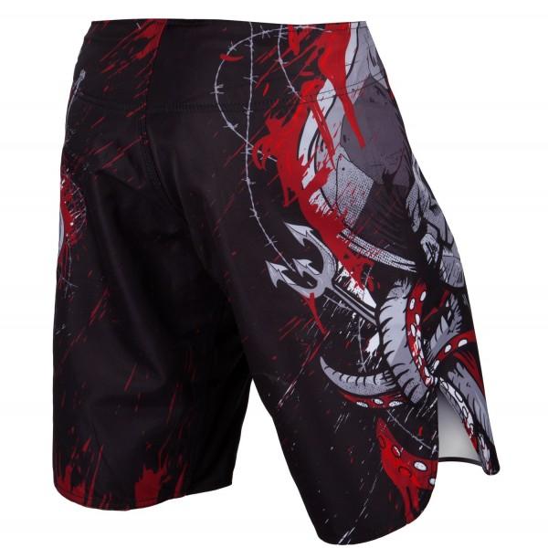 Шорты ММА Venum Pirate 3.0 Black/Red