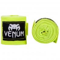 Бинты боксерские Venum Kontact 2,5 m Neo Yellow