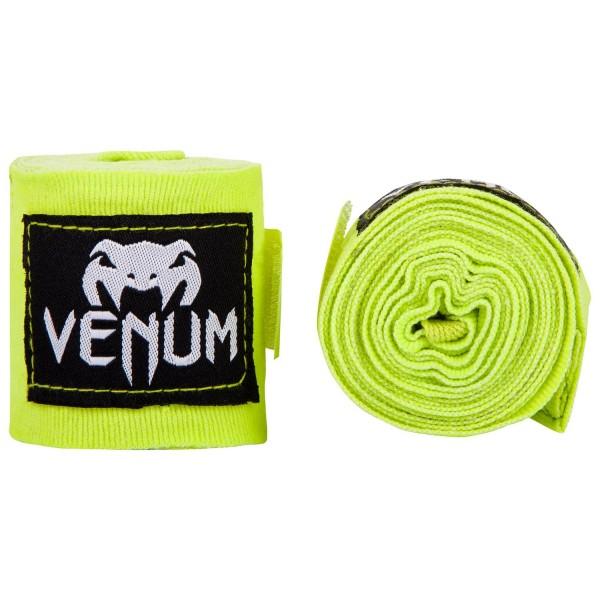 Бинты боксерские Venum Kontact 2,5m Neo Yellow