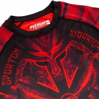 Рашгард Venum Gladiator Black/Red 3.0 L/S