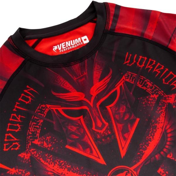 Рашгард Venum Gladiator Black/Red 3.0 L/S