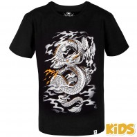Футболка детская Venum Dragon's Flight Kids - Black/White